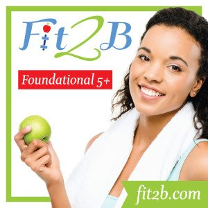 Giveaway:  Enter to Win a FREE Fit2b Foundational 5+ eCourse!